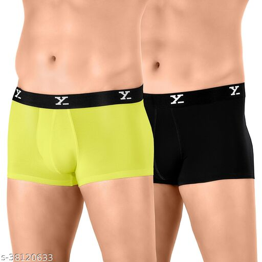 IntelliSoft Antimicrobial TENCEL Modal Premium Ace Trunk For Men (Pack of 2)