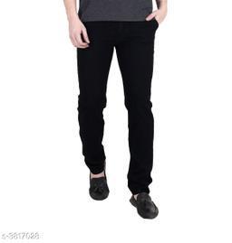 Stylish Denim Solid Jean