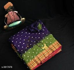 Trendy Cotton Women's Saree