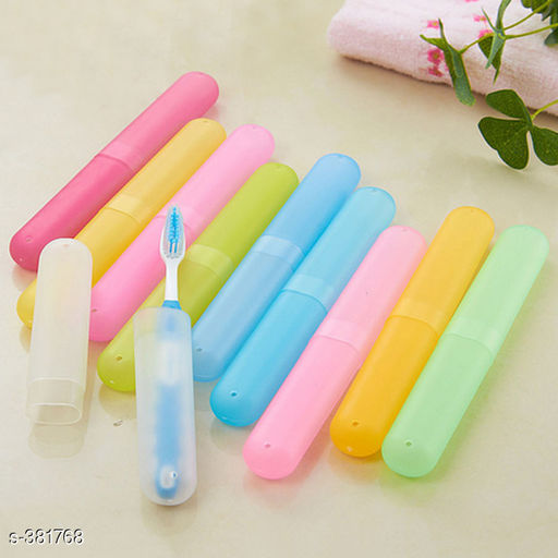 4pcs Tooth Brush Cover Case