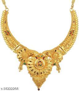 allure glittering women necklaces & jewellery set