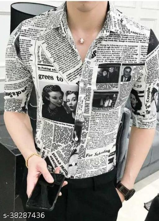 Mens Digitally Printed ReadymadeShirt
