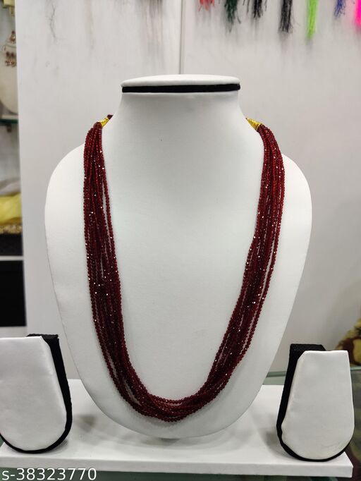 HYDRO SRONES NECKLACE 14 INCHES LENGTH ,8 LINES