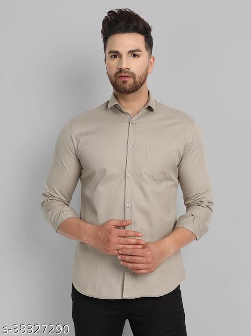 Men Pure Cotton Casual Shirt
