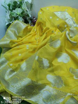 Zari silk Banarsi Georgette sarees