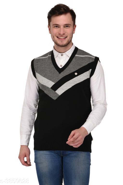 Trendy Cotton Blend Men's Blazer