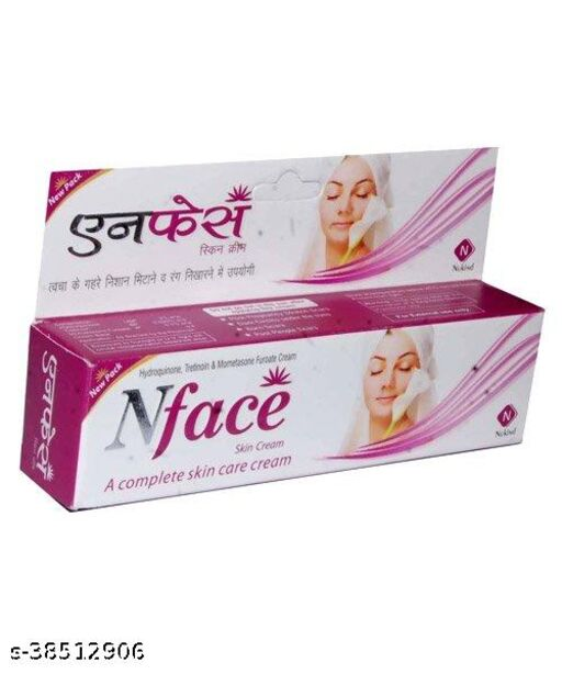 N face Skin Fairness Cream Removing Scars Marks (PACK OF 1 PCS )15 gm