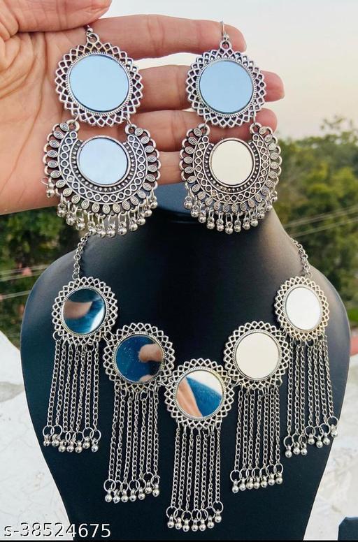 Beautiful Oxidised jewellery set