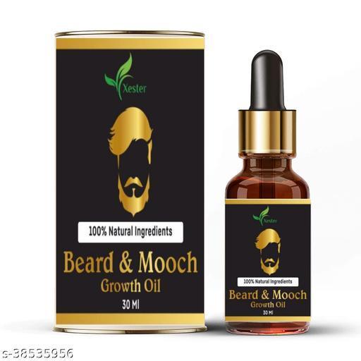 Beard Oil For Fast Beard Growth   Anti Beardruff   Best Beard Oil For Men   Straighten & Smooth Beard   Get Rid Of Patchy Beard For Men For All Beard Hair Types - 30 ml