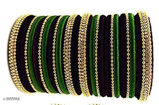 Stylish Women's Silk Thread Bangles