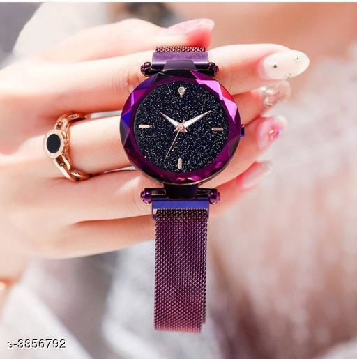 Magnet Buckle Watches Analog Watch - For Women