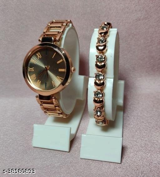 Ladies Stylish Half Chain Watch