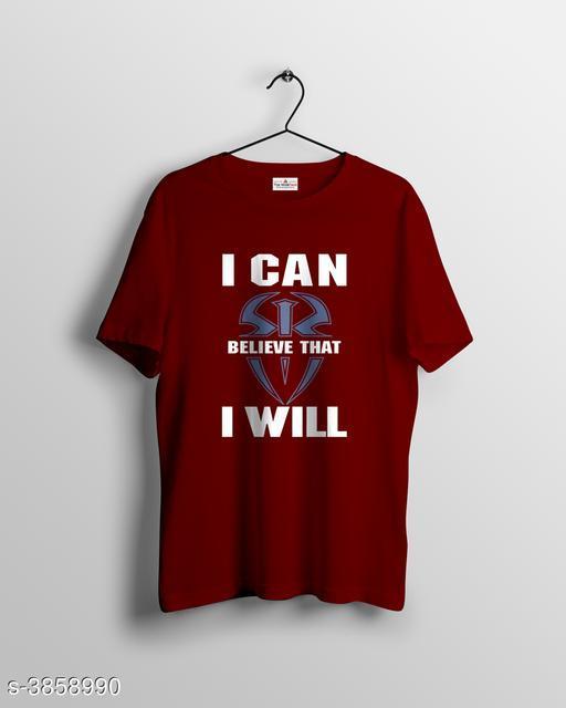 Attractive 100% Cotton Men's T-Shirt