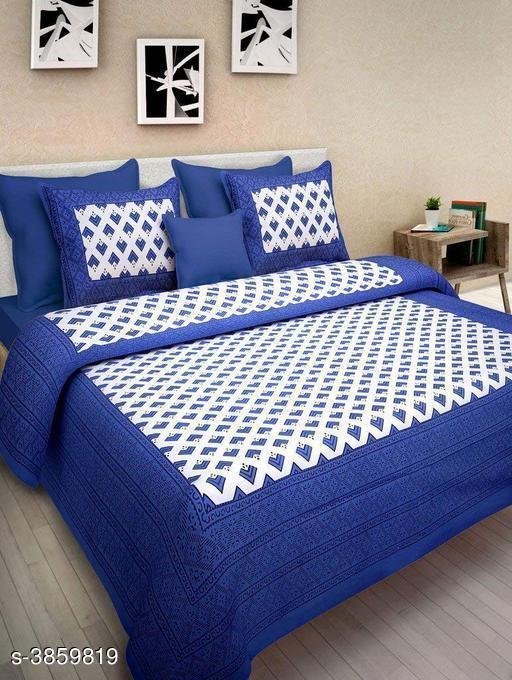 New Look Trendy 100 % Cotton Double Bedsheets