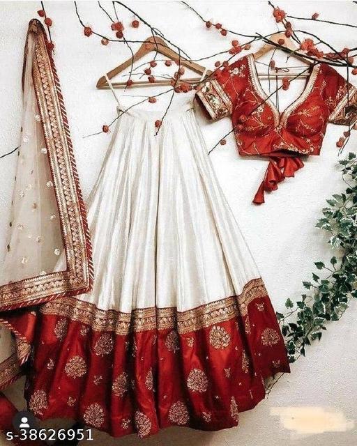 Attractive Traditional Silk Lehenga choli
