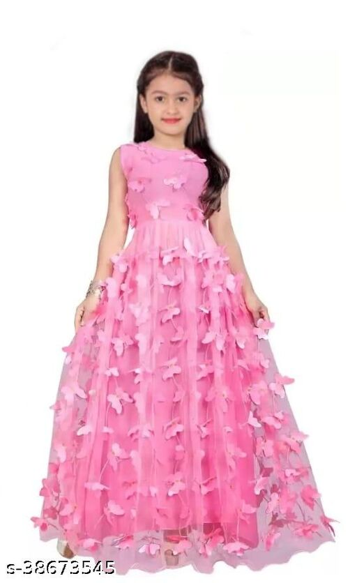 Attractive Girls Ethnic Gowns