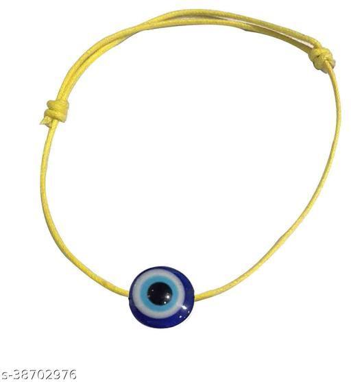 Adjustable Black Thread EvilEye  ANKLET for Girls