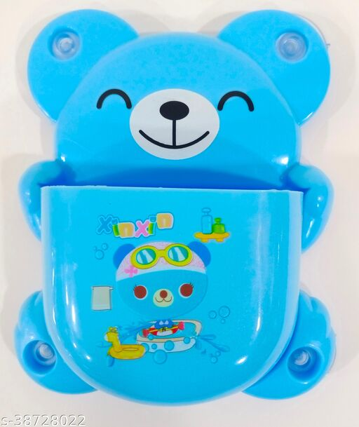 Jimplei Wall Mountain Plastic Toothbrush Holder For Kid's