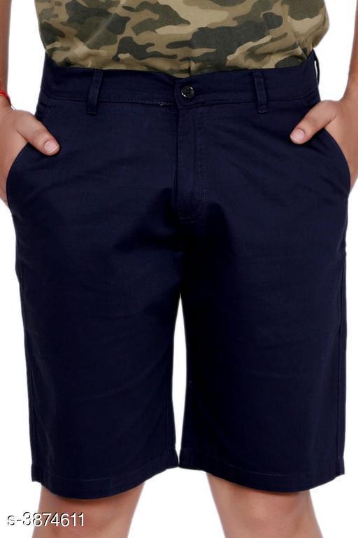 Trendy Pure Cotton Men's Short