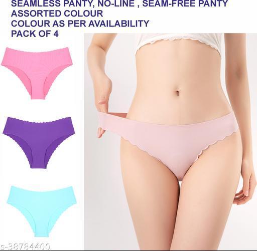 Piftif No Panty Lines Bikini Seamless Panty