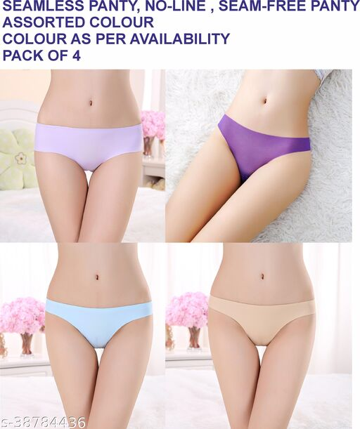 Women Hipster Teal Cotton Blend Panty (Pack of 4)