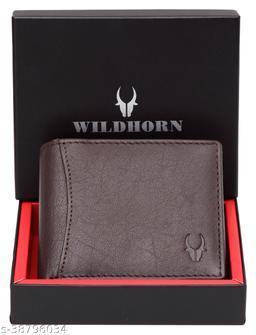 WildHorn® RFID Protected 100% Genuine Leather Wallet for Men