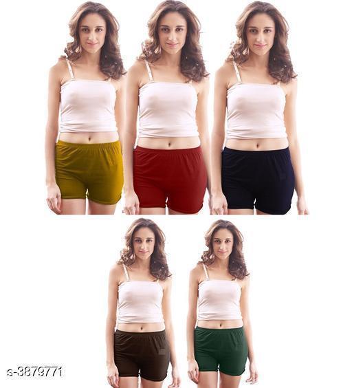 Women Pack of 5 Hipster Panties