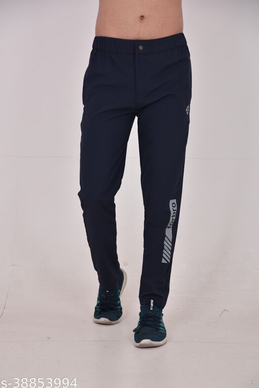 Forbor new style track pant (black)