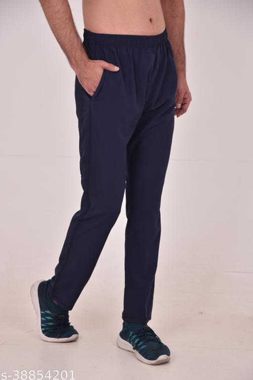Forbor comfortable regular track pant (black)