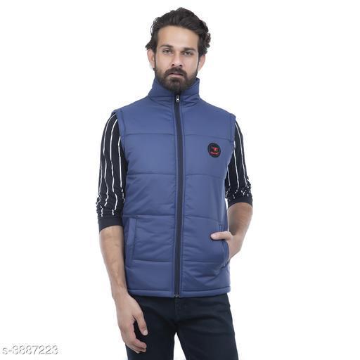 Stylish Polyester Men's Jacket
