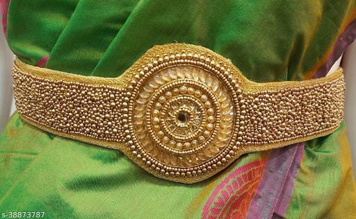 Saree belt with heavy aari work