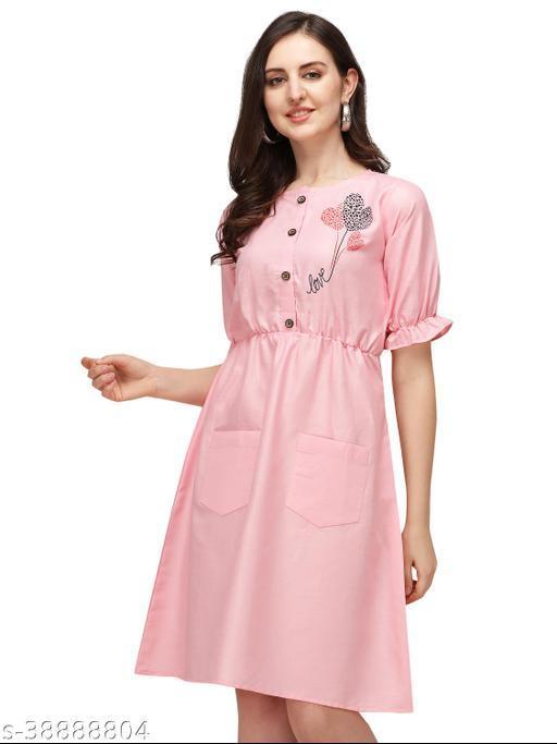 Stylish Retro Rayon Sulb Women Dresses