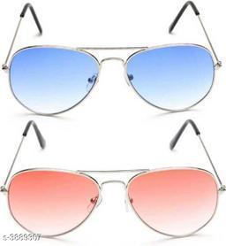 Elite Attractive Trendy Unisex Sunglasses (Pack Of 2)