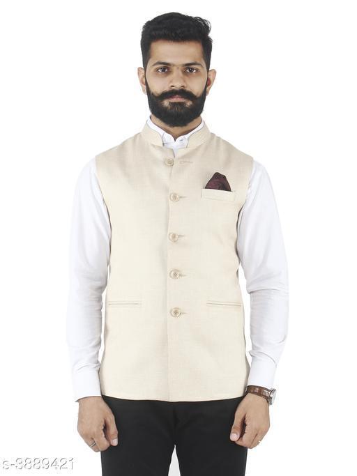 Ethnic Formal Cum Wedding Nehru Jacket