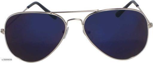 hipe Aviator Sunglasses (Blue)