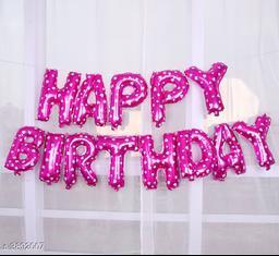 Trendy Designer Birthday Balloons Decors