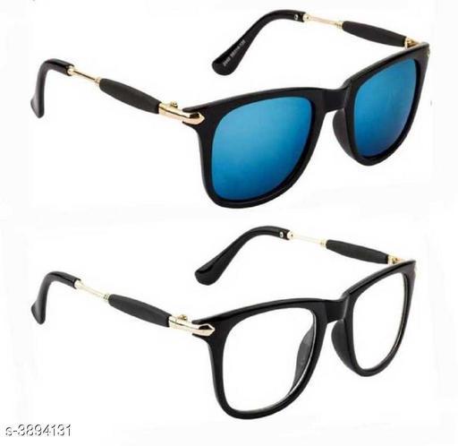 Trendy Designer Fiber Unisex Sunglasses