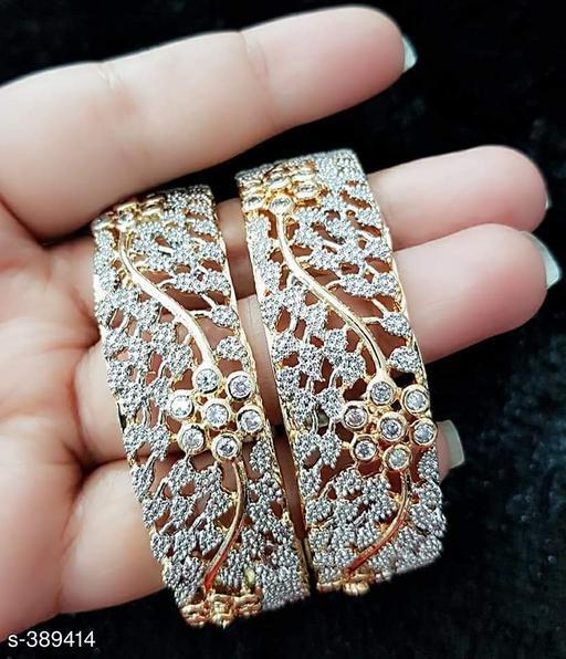 Beautiful American Diamond Bangles