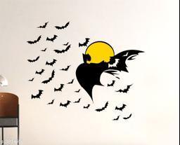 Sticker Hub Batman Design Wall Sticker PVC Vinyl Standard Size - 117cm X 98cm Color-Multicolor,