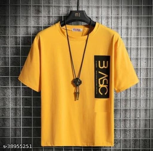 Stylesmyth Best Selling  Printed Half Sleeves  T' shirt for man
