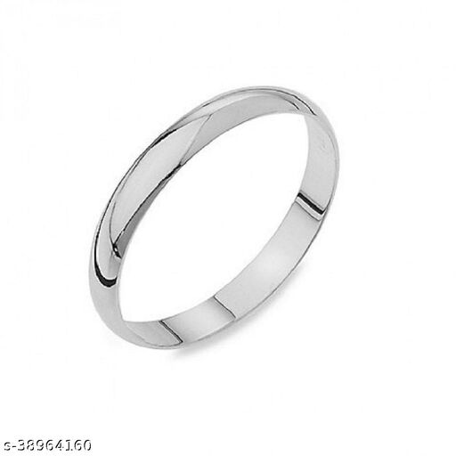 Silver challa ring original silver plated easy to wear fashionable for men and women