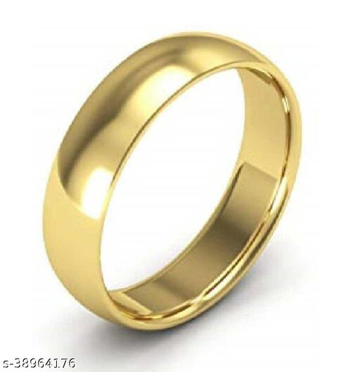 Gold challa ring original gold plated easy to wear fashionable for men and women