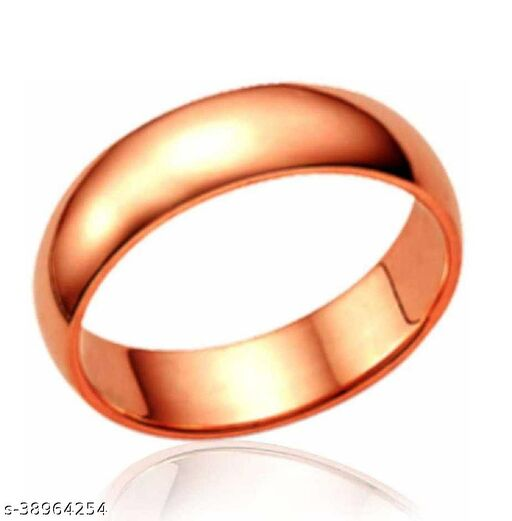 Copper challa ring original copper plated easy to wear fashionable for men and women