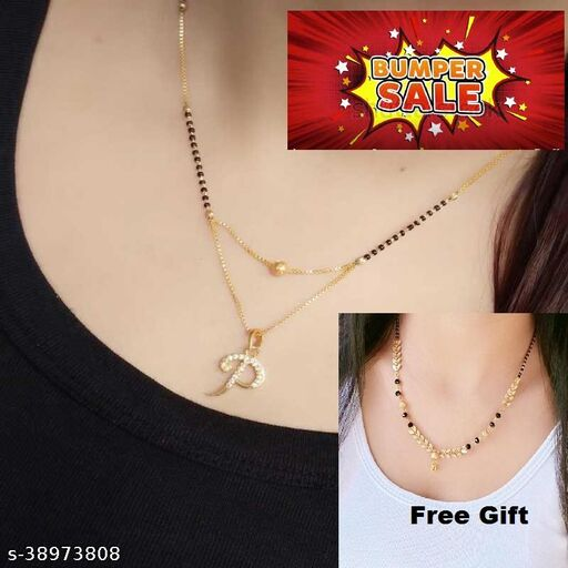 Fancy Name Mangalsutra For Woman
