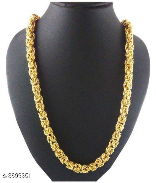 Trendy Alloy & Brass Men's Chain