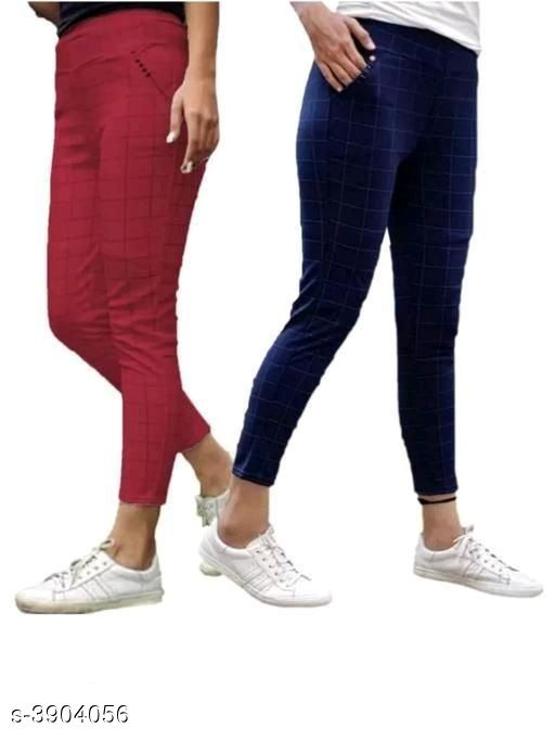 Tights New Comfy Cotton Women's Tights (Pack Of 2)  *Fabric* Cotton  *Size* Up To  26 in To 34 in ( Free size )  *Length* Up To 40 in  *Type* Stitched  *Description* It Has 2 Pieces Of Women's Tights  *Pattern* Checkered  *Sizes Available* Free Size, 26, 28, 30, 32, 34 *   Catalog Rating: ★4 (39)  Catalog Name: New Comfy Cotton Women's Tights (Pack Of 2) Vol 15 CatalogID_549385 C79-SC1036 Code: 584-3904056-