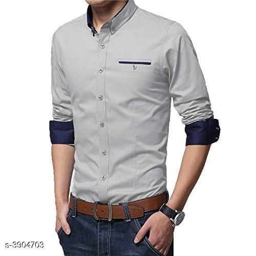 Shirts Attractive Cotton Men's Shirt Fabric: Cotton Sleeve Length: Long Sleeves Pattern: Solid Multipack: 1 Sizes: XL (Chest Size: 38 in Length Size: 28 in)  L (Chest Size: 38 in Length Size: 28 in)  M (Chest Size: 38 in Length Size: 28 in) Country of Origin: India Sizes Available: M, L, XL   Catalog Rating: ★4 (476)  Catalog Name: Fashionable Men Shirts CatalogID_549527 C70-SC1206 Code: 734-3904703-