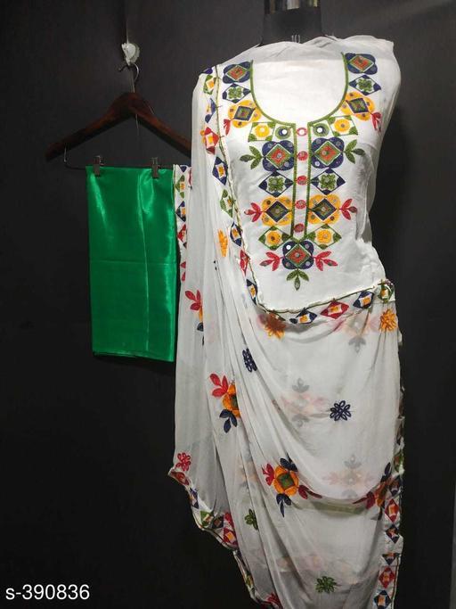 Contemporary Aari Work Women's Suit