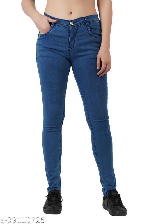 Skinny Women's Stretchable Denim Slim Fit Jeans