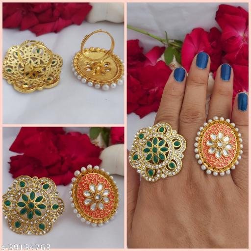 Allure Bejeweled Women's Rings
